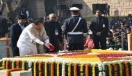 India continuously draws inspiration from Mahatma Gandhi's vision: VP Venkaiah Naidu pays tribute at Rajghat