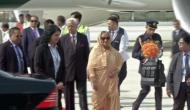 Bangladesh PM Sheikh Hasina arrives in India on 4-day visit
