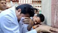 SP leader Firoz Khan, whose crying video goes viral, says BJP govt ignored cleaning of Bapu's statues