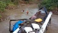 मध्य प्रदेश के रायसेन में दर्दनाक सड़क हादसा, रेलिंग तोड़कर नदी में गिरी बस, 7 की मौत 19 घायल