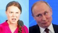 Russian President Vladimir Putin criticises Greta Thunberg for her UN speech