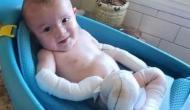 इस मासूम बच्चे को नहीं छू सकते इसके मम्मी-पापा, बच्ची के हंसी के पीछे छुपा है गहरा दर्द