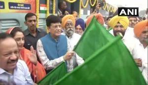 Delhi-Ludhiana 'Sarbat Da Bhalla Express' train flagged off