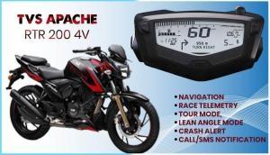 Bluetooth के साथ लॉन्च हुई TVS Apache RTR, दुर्घटना पर पर भेजेगी नोटिफिकेशन