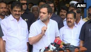 Rahul Gandhi attacks PM Modi over FIR against celebrities