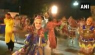 Watch: Gujarat people perform 'Garba' wearing Modi mask