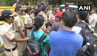 Mumbai: Heavy police deployment in Aarey Colony amid protests over cutting of trees