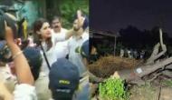 मुंबई के आरे में काटे गए 800 पेड़,  हिरासत में ली गई उपनेता प्रियंका चतुर्वेदी, धारा 144 लागू