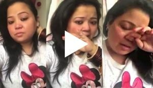 Oh no! Haarsh slaps comedy queen Bharti Singh for this shocking reason! Video goes viral
