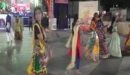 Gujarat: Students, teachers perform 'Garba' dance with sanitary napkins