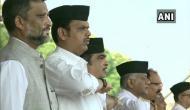 Maharashtra CM Devendra Fadanvis, Nitin Gadkari, others attend RSS Vijaydashmi event