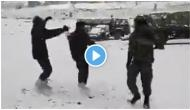 Indian Army soldiers celebrate Dussehra, play Garba in sub-zero degree temperature; video goes viral