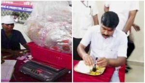 Now enjoy free food in exchange for plastic waste atChhattisgarh Garbage Cafe
