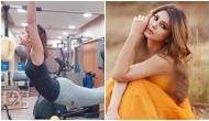 Beyhadh 2's Jennifer Winget sweating it out in Pilates workout session; see video