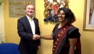 Bengaluru: Journalism student becomes British Deputy High Commissioner for a day