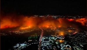Blazing fire in LA: More than one lakh people evacuated
