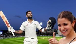 Here's how Anushka Sharma reacted to Virat Kohli's masterful double century