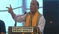 Rajnath Singh accuses Congress of internationalising Kashmir issue