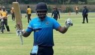 Twitter erupts as Sanju Samson knocks record breaking double century