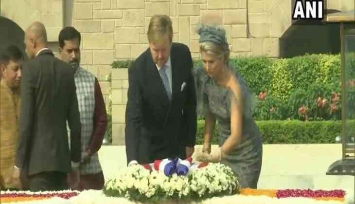 Dutch King, Queen pay tributes to Mahatma Gandhi