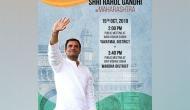 Maharashtra polls: Rahul Gandhi to hold two public meetings today