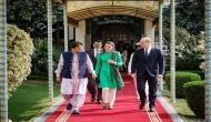 Prince William, Kate Middleton meet President Alvi, Imran Khan
