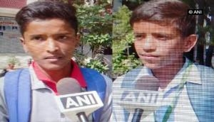 Nobel winner Abhijit Banerjee supports these two students to get education