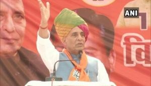 If not 'Om', then what? Rajnath Singh asks Rahul Gandhi over Rafale 'Shastra Puja'