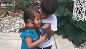 Hollywood actor Will Smith shares a cute video of little brother motivating his sister; video goes viral