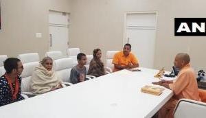 Kamlesh Tiwari's family meet CM Yogi, wife threatens self-immolation
