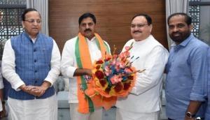 आंध्र प्रदेश: चंद्रबाबू नायडू को बड़ा झटका, TDP के इस ताकतवर नेता ने ज्वाइन की BJP