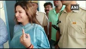 Haryana polls: TikTok star Sonali Phogat casts her vote