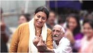 Maharashtra Polls 2019: Smriti Irani applauds 93-year-old former Army man for voting; says 'he is an inspiration'