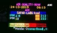 No clean air for Delhi as AQI remains 'poor'