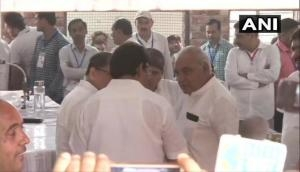 Haryana Assembly Elections Result: Congress upbeat, Hooda back in Rohtak office; close fight between BJP-Congress
