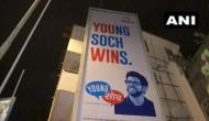 'Young Soch Wins': Posters celebrating Aditya Thackeray's electoral victory appear in Prabhadevi