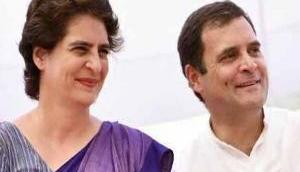Priyanka, Rahul Gandhi extend Diwali greetings