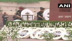 Army chief lays wreath at National War Memorial on Infantry Day