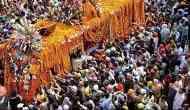 New Delhi: Nagar Kirtan of Sikh devotees departs for Nankana Sahib