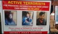 J&K: Police announce Rs 30 lakh reward on capture of 3 Hizbul Mujahideen terrorists