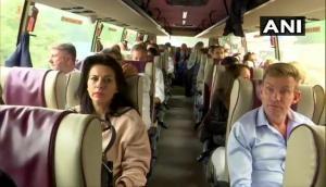 EU delegation leaves for Kashmir