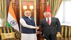 PM Modi meets Jordanian King Abdullah II