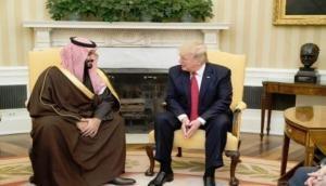 Saudi crown prince congratulates Trump on death of ISIS chief Baghdadi