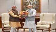 Haryana CM Manohar Lal Khattar calls on PM Modi