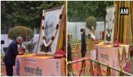 President Kovind, HM Amit Shah pay floral tributes to Sardar Patel