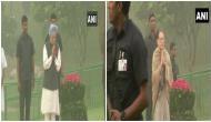 Sonia, Manmohan Singh pay tribute to Indira Gandhi on death anniversary