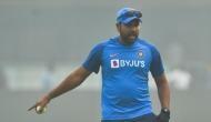 IND vs BAN: अभ्यास के दौरान रोहित शर्मा के पांव में लगी गेंद, नेट छोड़कर लौटे वापस