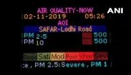 Pollution level in Delhi remain 'severe', with Air Quality Index crossing 500