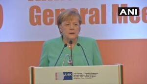 Very good reason to replace diesel buses: Angela Merkel on Delhi pollution