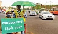 दिल्ली में आज से लागू हुआ ऑड-इवन, नियम तोड़ने वालों पर लगेगा 4000 का जुर्माना